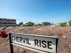 Going, going, gone! Old Heath Town flats finally bulldozed ready for new homes