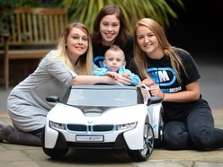 Joy as Cain,2, gets replacement toy car after burglars ransack Wolverhampton home
