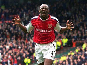 Former Arsenal hero Patrick Vieira