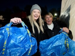 Black Friday: Cannock's Newlife store is swamped, but high street sales get a lukewarm reception – with VIDEO