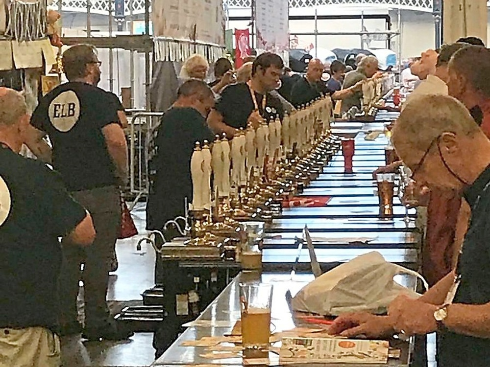 Cheers to the beers! Real ale and craft beer on the rise in region