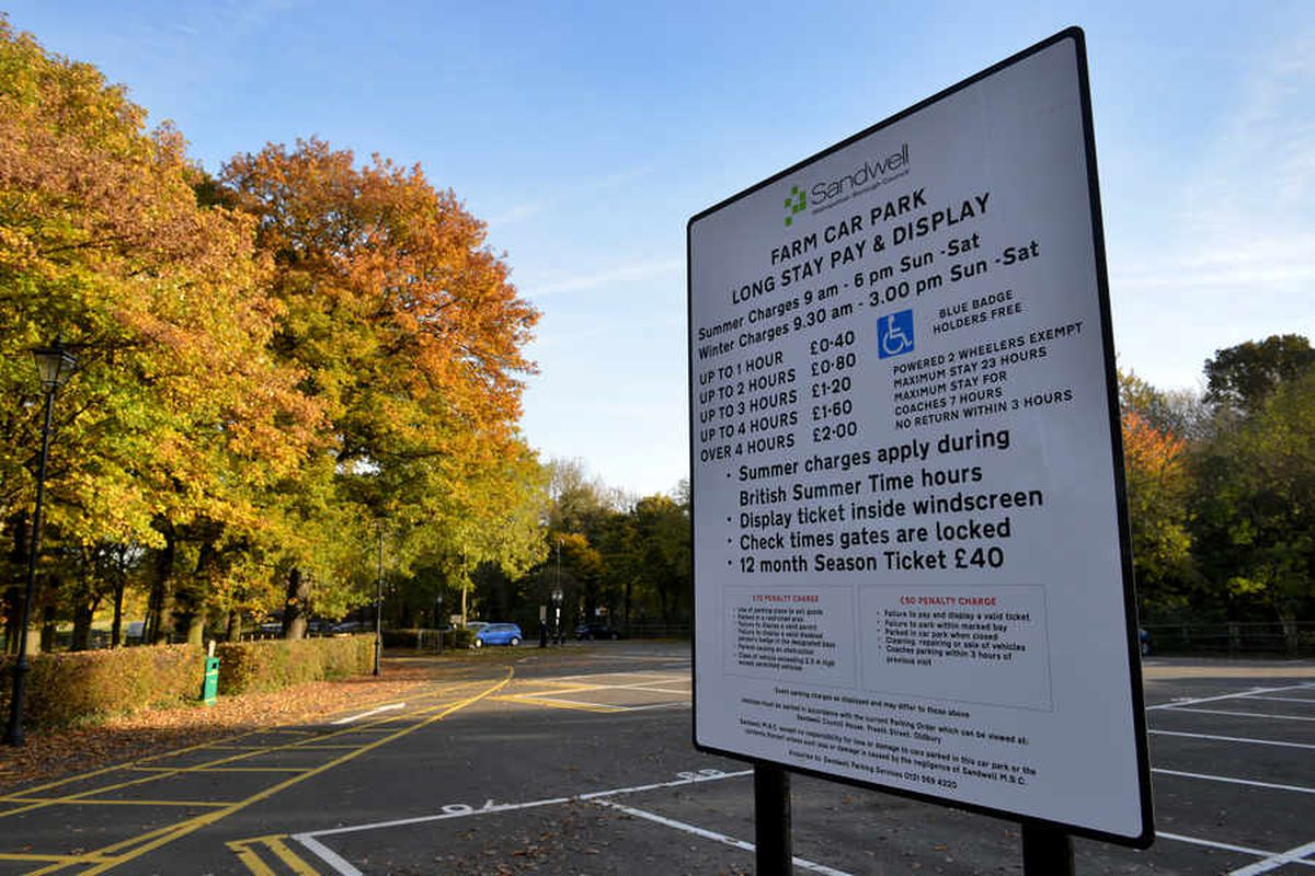 Car parking charges start at Sandwell Valley car parks