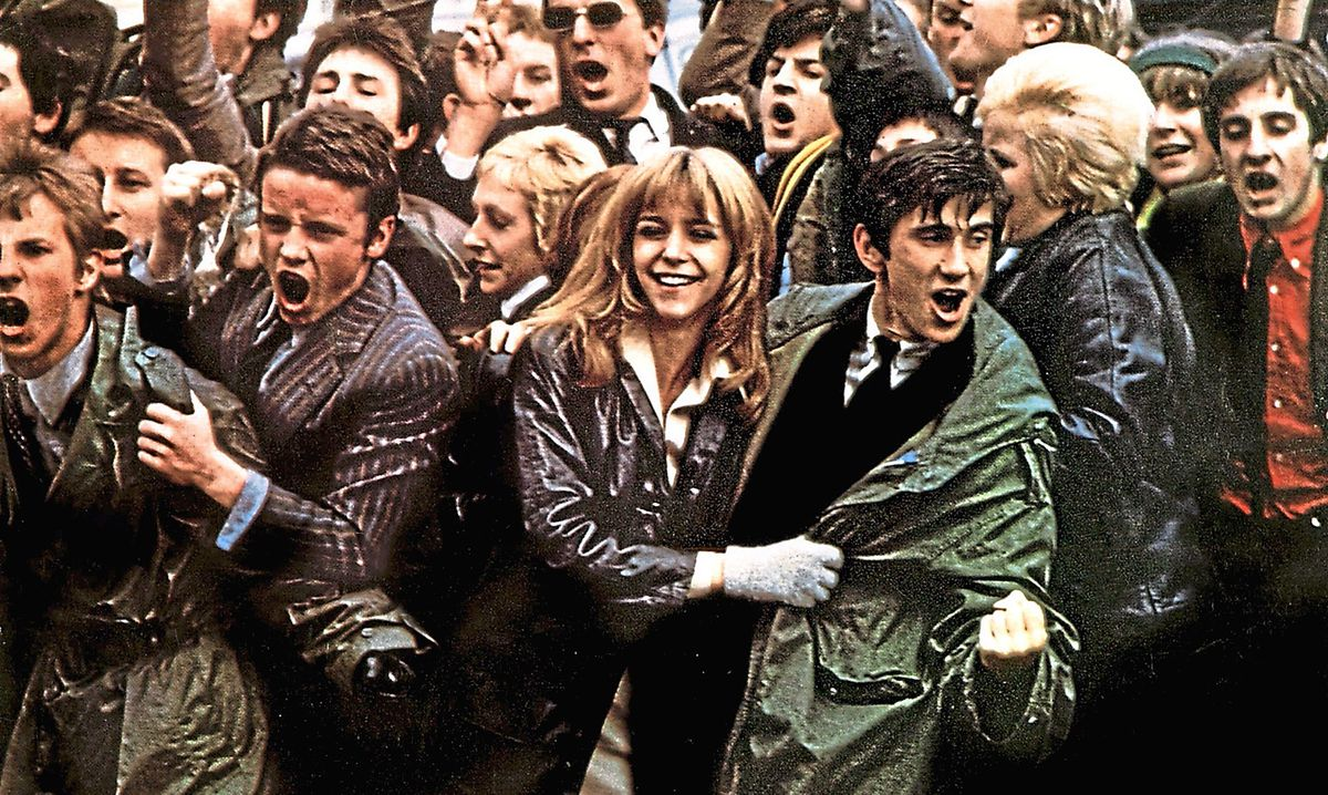 Quadrophenia, released in 1979, starred Leslie Ash and Phil Daniels, centre, who will be both be at Party in the Park II