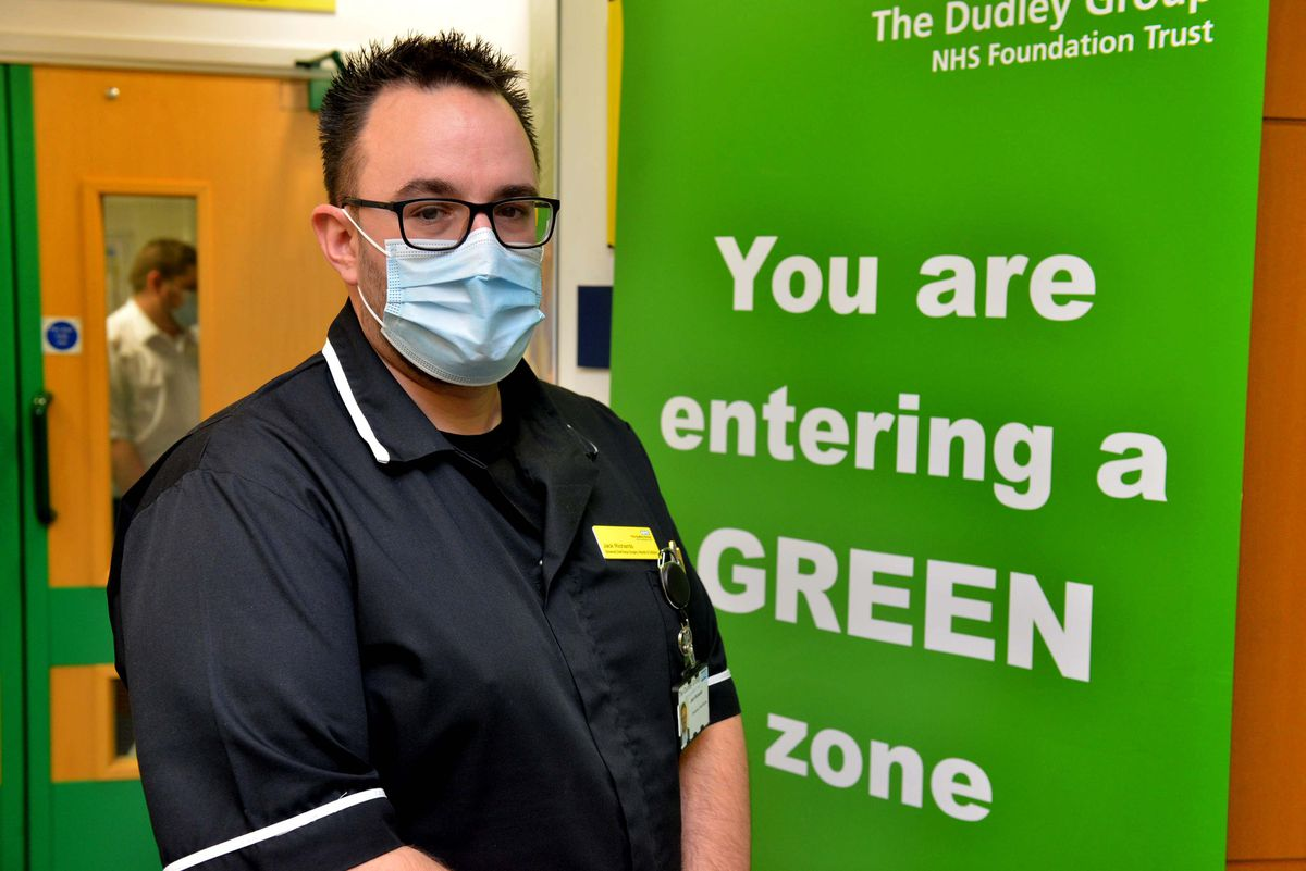 Jack Richards, from Quarry Bank, is the chief nurse for surgery at Russells Hall