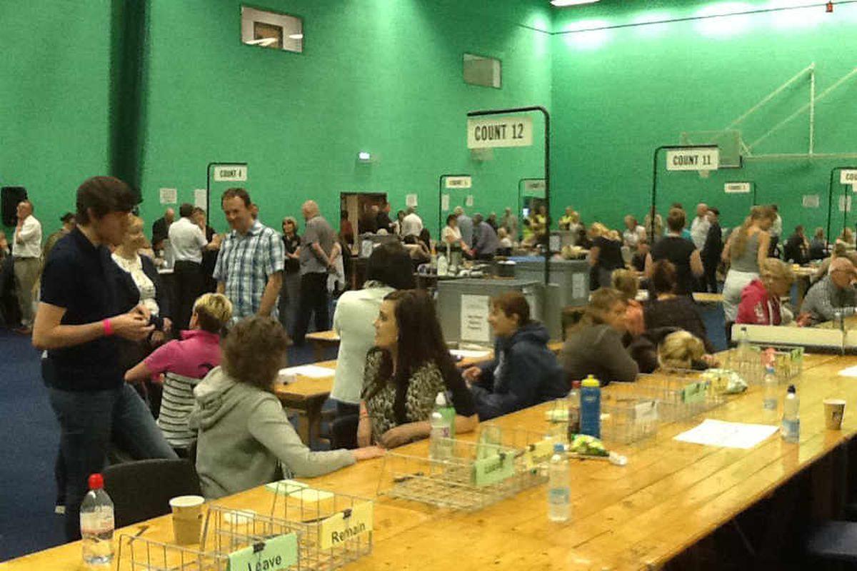 EU referendum result: Stafford votes LEAVE