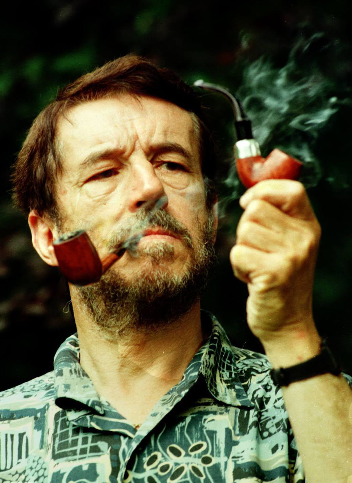 Shropshire author Guy N Smith was British Pipe Smoking Champion in 1996 and 2003