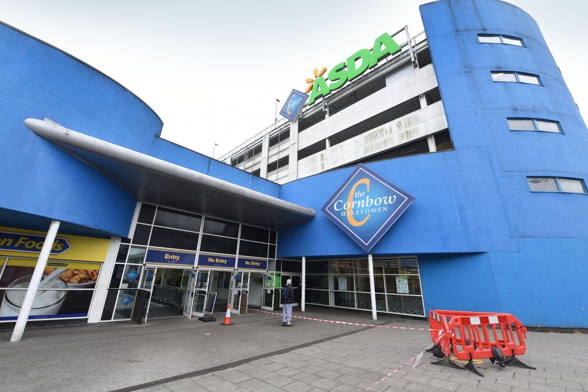 The Cornbow Shopping Centre in Halesowen