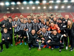 Staffordshire Senior Cup final: Stafford 3 Hednesford 2 - Report and pictures
