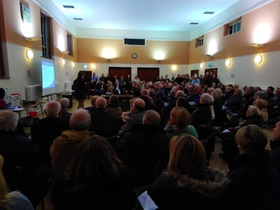 Hundreds speak out on Bridgnorth homes plans