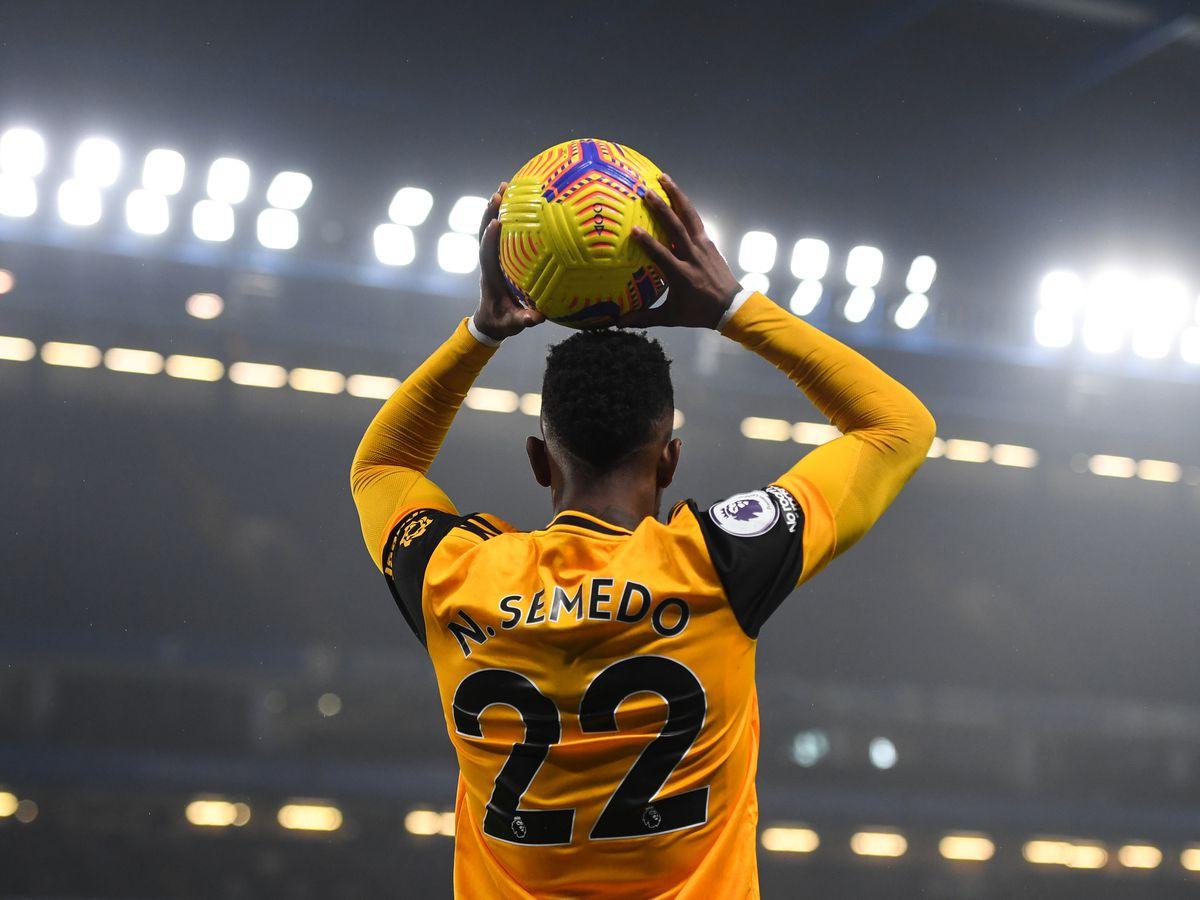 Nelson Semedo of Wolverhampton Wanderers (AMA)