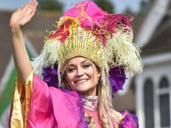 Alton Towers are to hold a Mardi Gras style carnival this year as part of the annual attractions. Beatrice Goodwin from Uttoxeter is one of the star performers.
