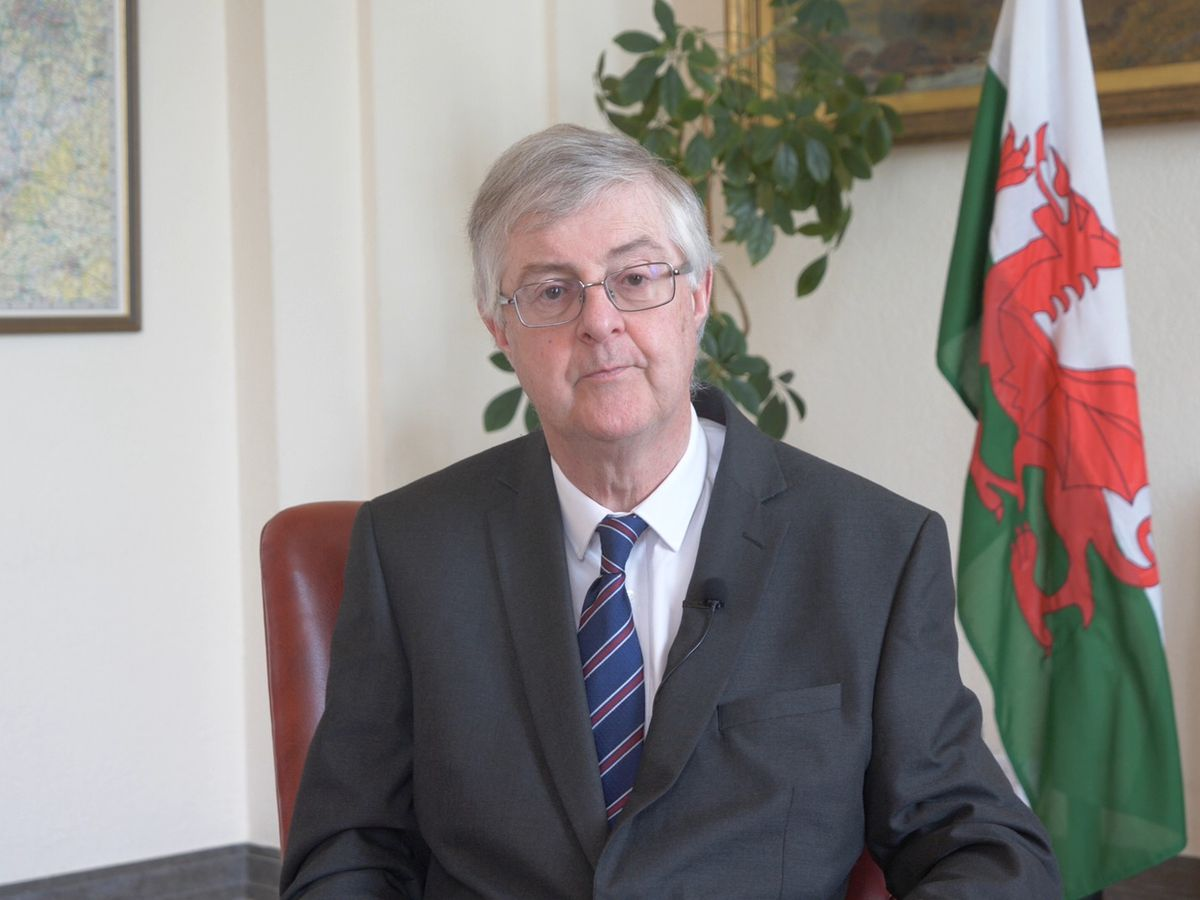 First Minister for Wales Mark Drakeford