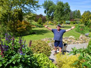 John Massey will open up his garden to raise funds for the International Dendrology society