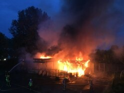 Thirty firefighters tackle blaze at disused Wolverhampton community centre