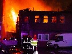Severe blaze destroys Wolverhampton factory