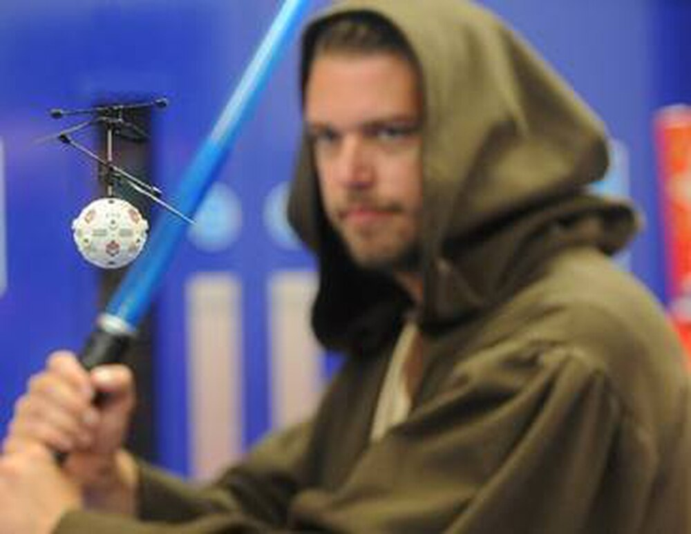 The Jedi Training Remote from Wolverhampton toy firm Wow! Stuff is set to be the UK's best selling Star Wars toy this Christmas