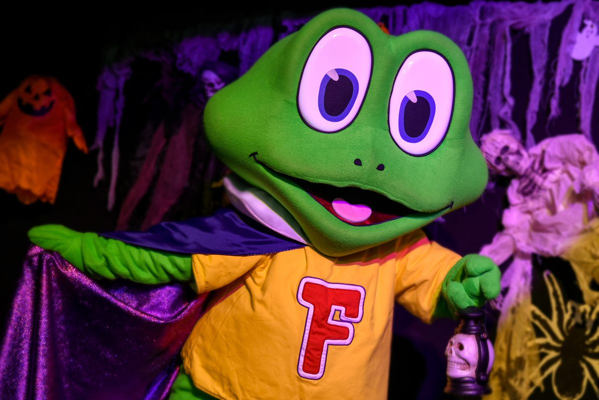The live Halloween Spooktacular show  is hosted by Freddo