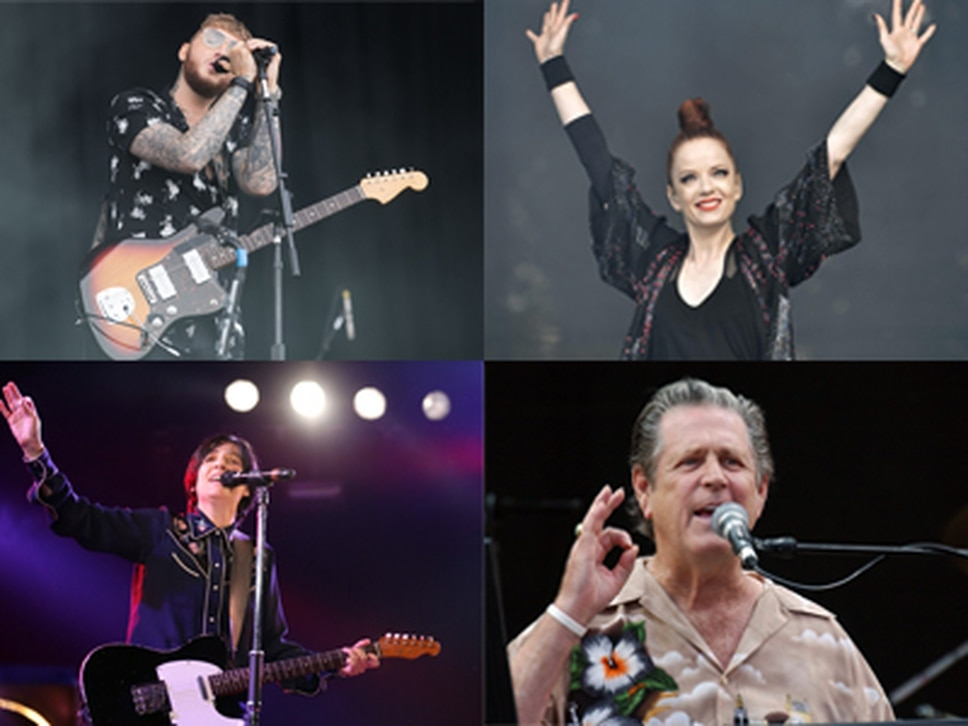Brian Wilson, James Arthur, Garbage and Texas among acts set to play series of huge outdoor concerts in Birmingham