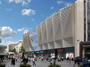An artist's impression of the new Primark