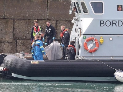 Suspected migrants taken to Dover amid concerns over Covid-19 in refugee camps