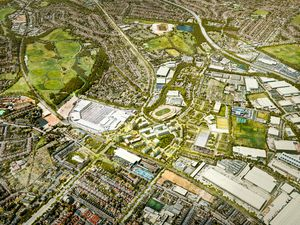 Illustrative view of Perry Barr 2040