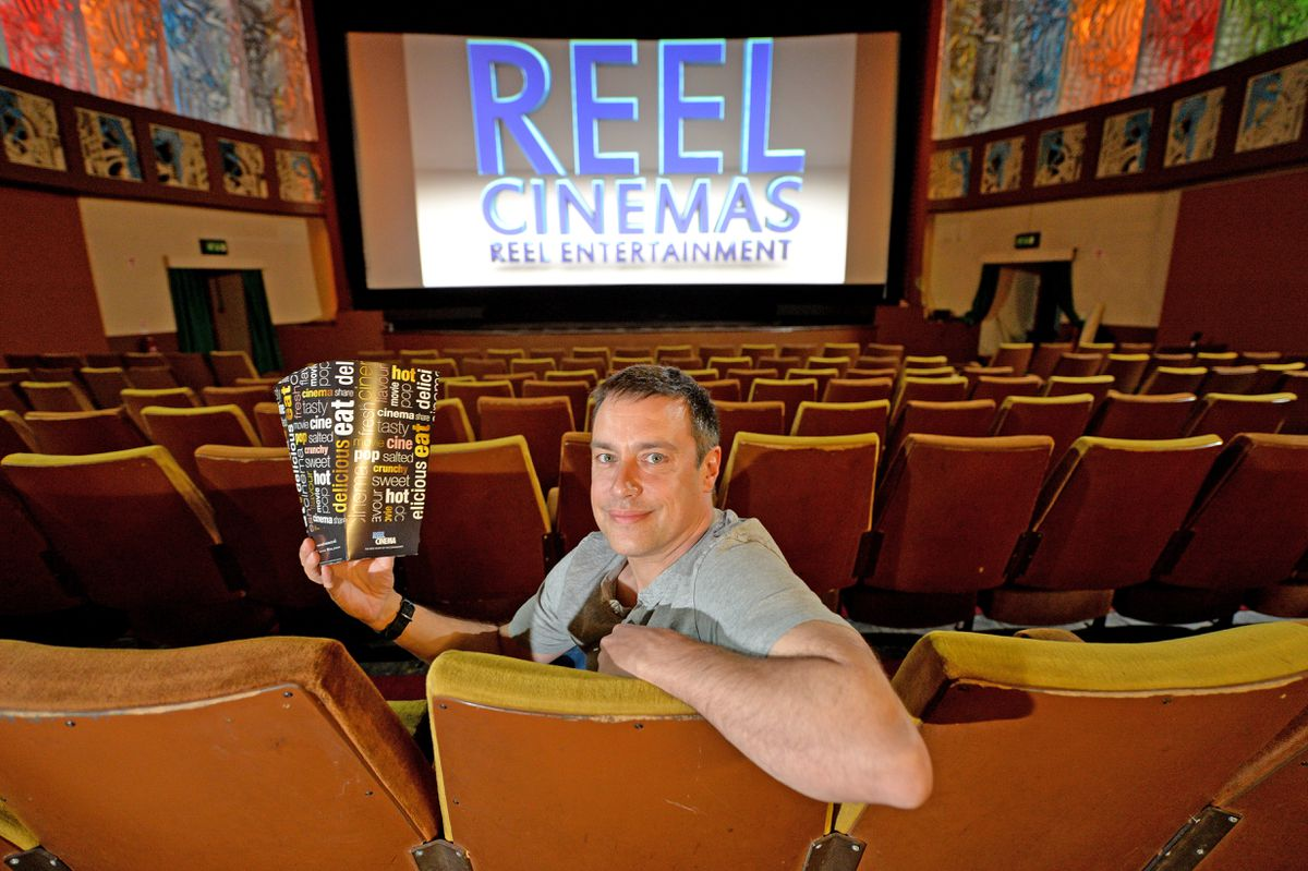 James Frizzell at the Majestic Cinema