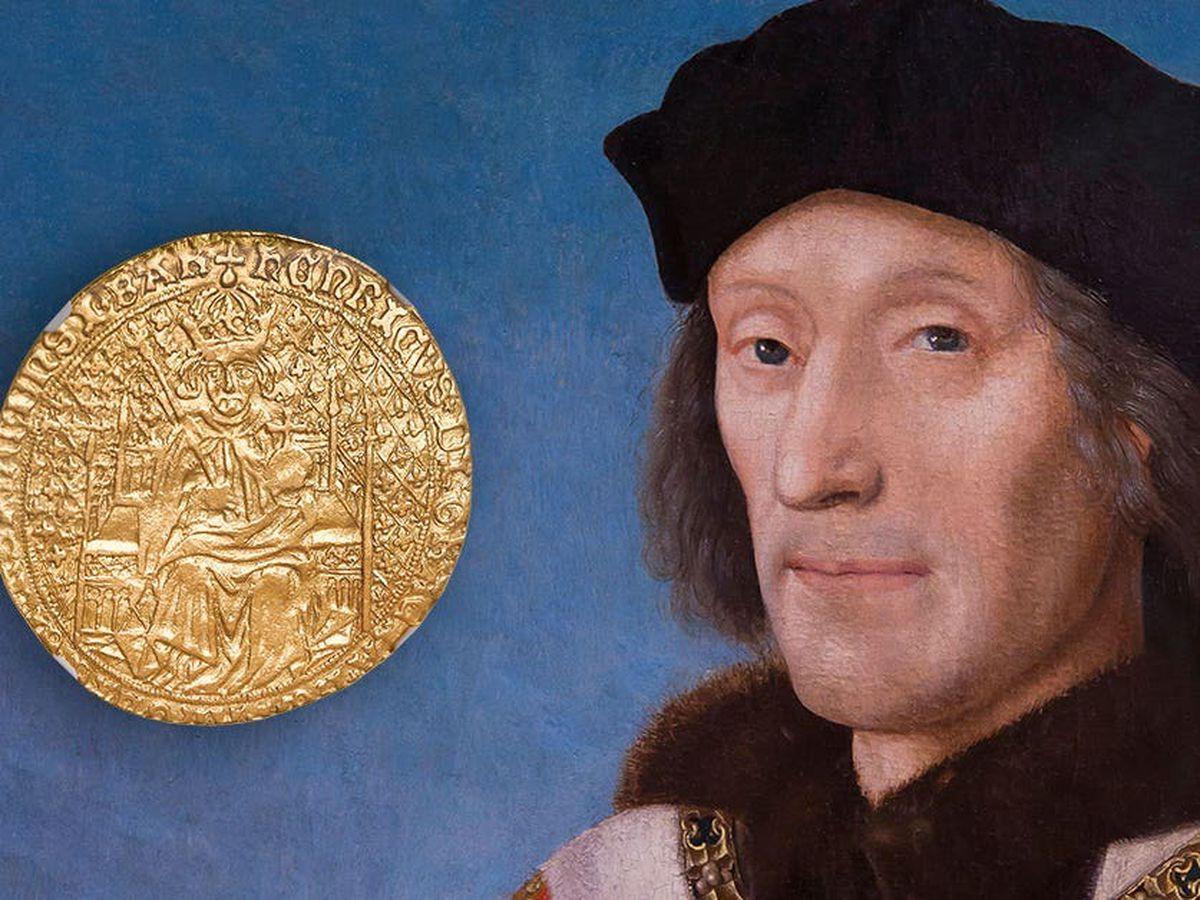 Tudor coin auction
