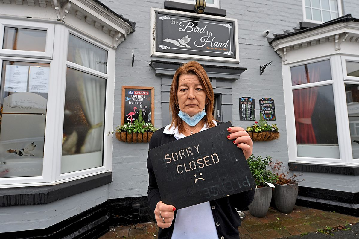 Paula Herbert, manageress of the Bird in Hand, said there was a real sense of frustration with the government