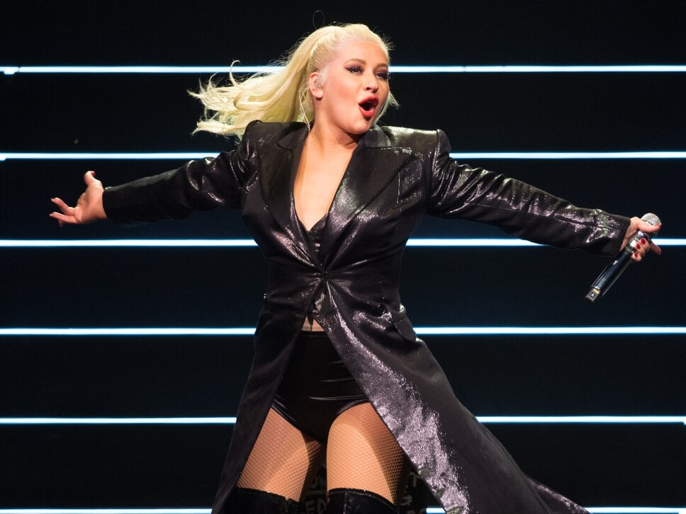 Christina Aguilera, Resorts World Arena, Birmingham - review and pictures