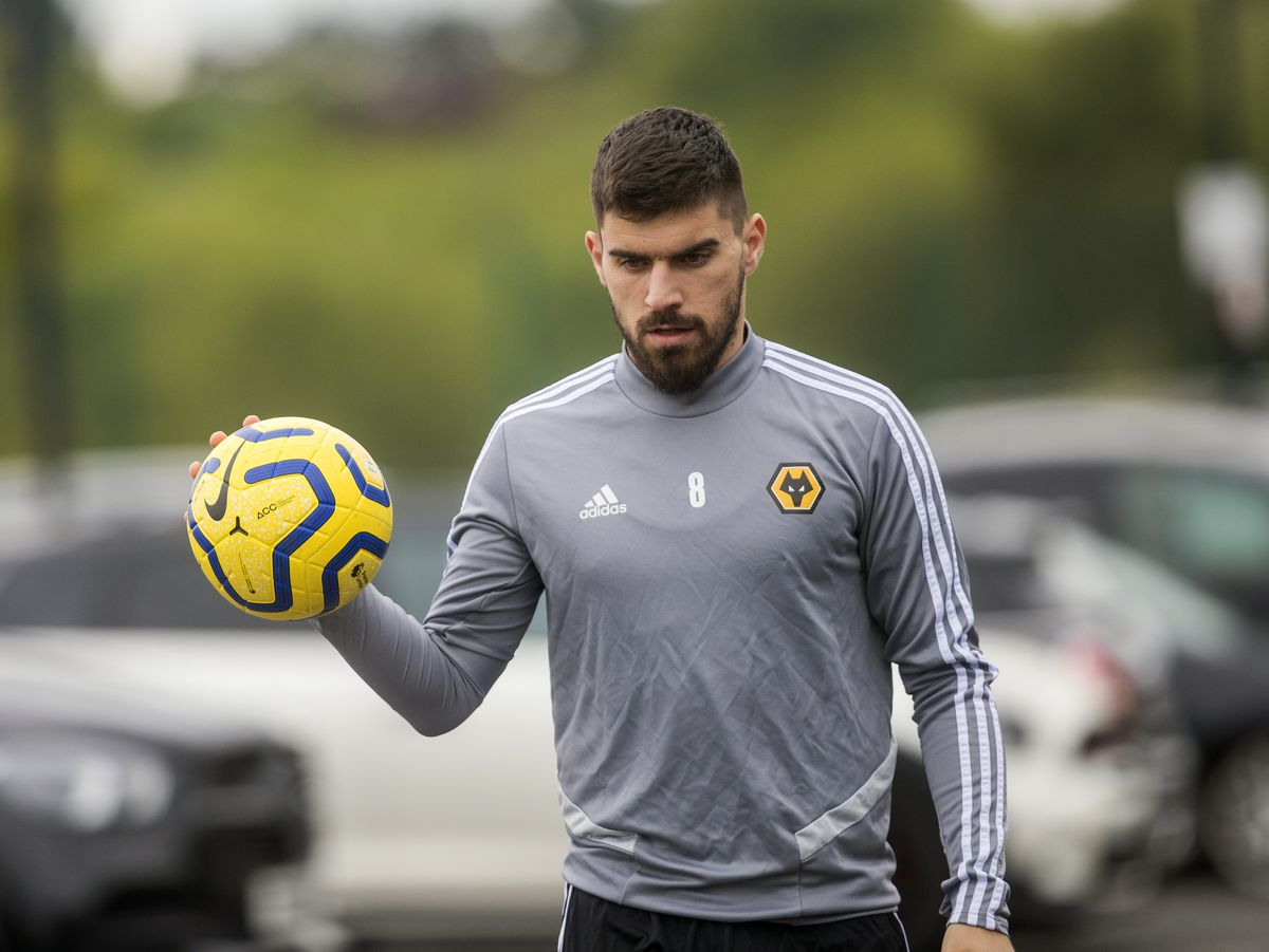 Ruben Neves arriving at training for Wolves (AMA)