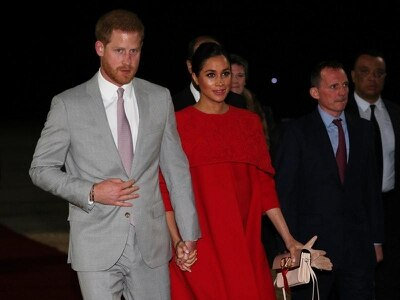 Harry and Meghan arrive in Morocco for whirlwind tour