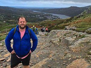 Paul Wright raised £3,000 for New Era by climbing Mount Snowdon