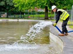 Water finally flowing into closed Tettenhall Pool