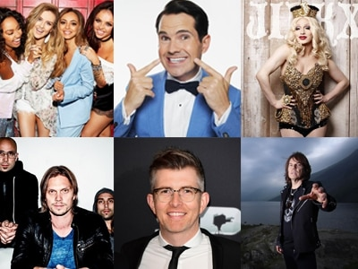 Little Mix, Jimmy Carr, Deep Purple, Europe, Jinkx Monsoon and more: What's on this weekend