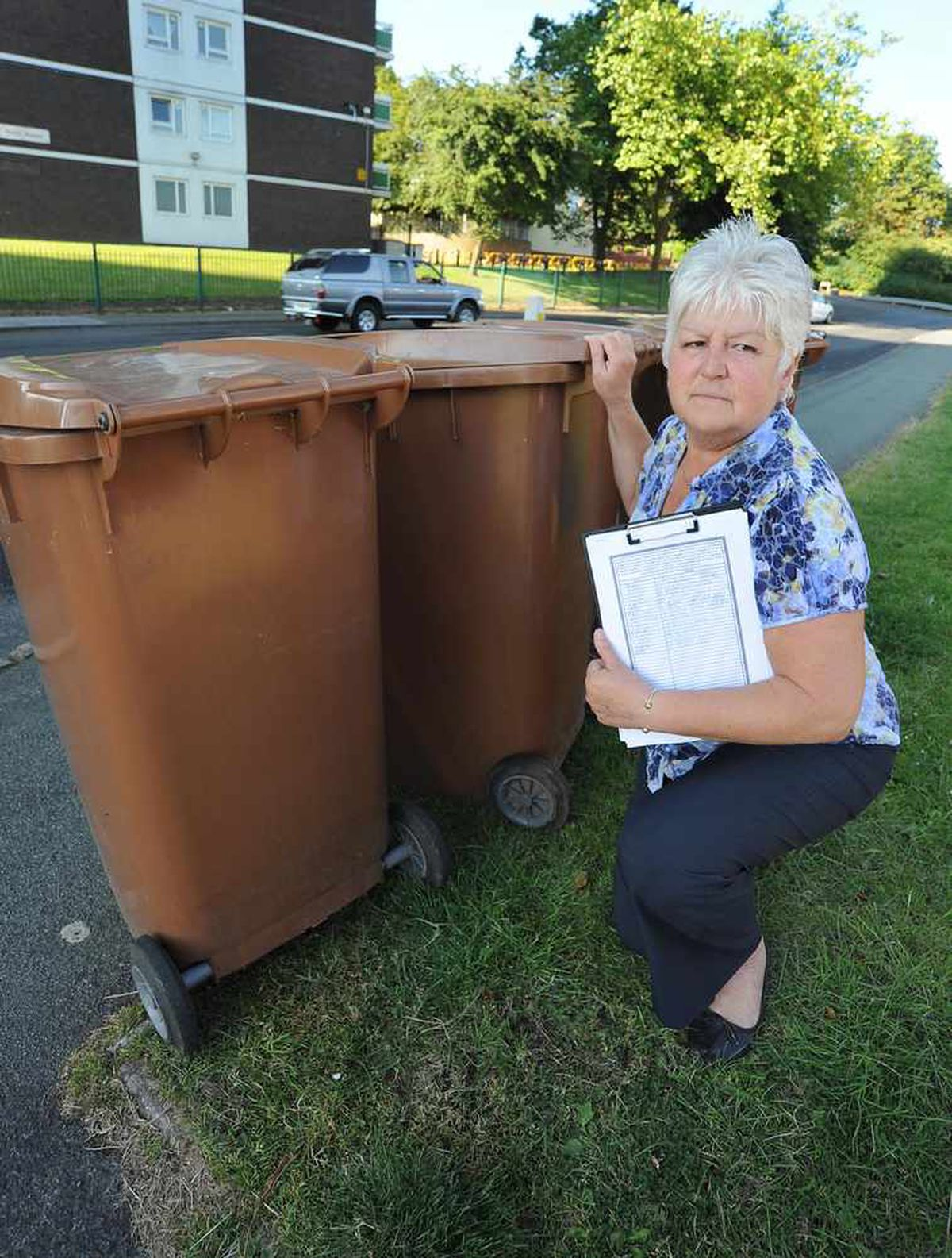 Binmen are blocking us in our home, claim Bloxwich couple