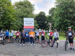 2,000 miles completed to raise funds for NHS