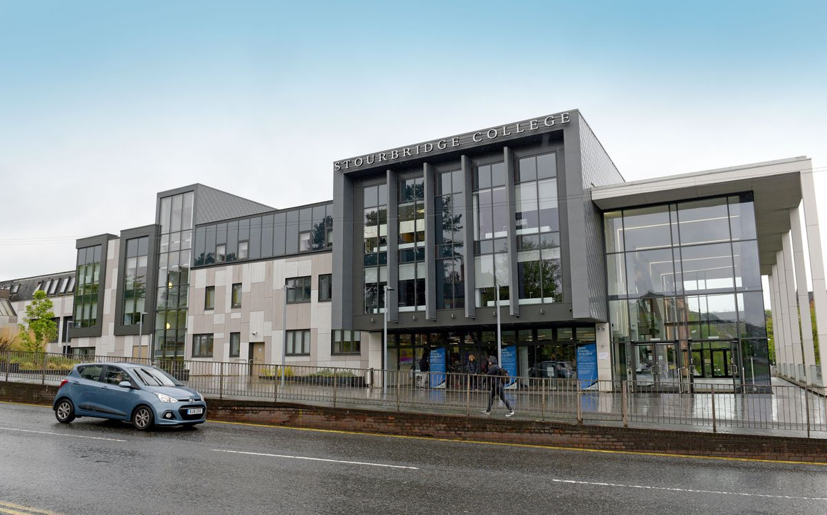 Stourbridge College on Hagley Road