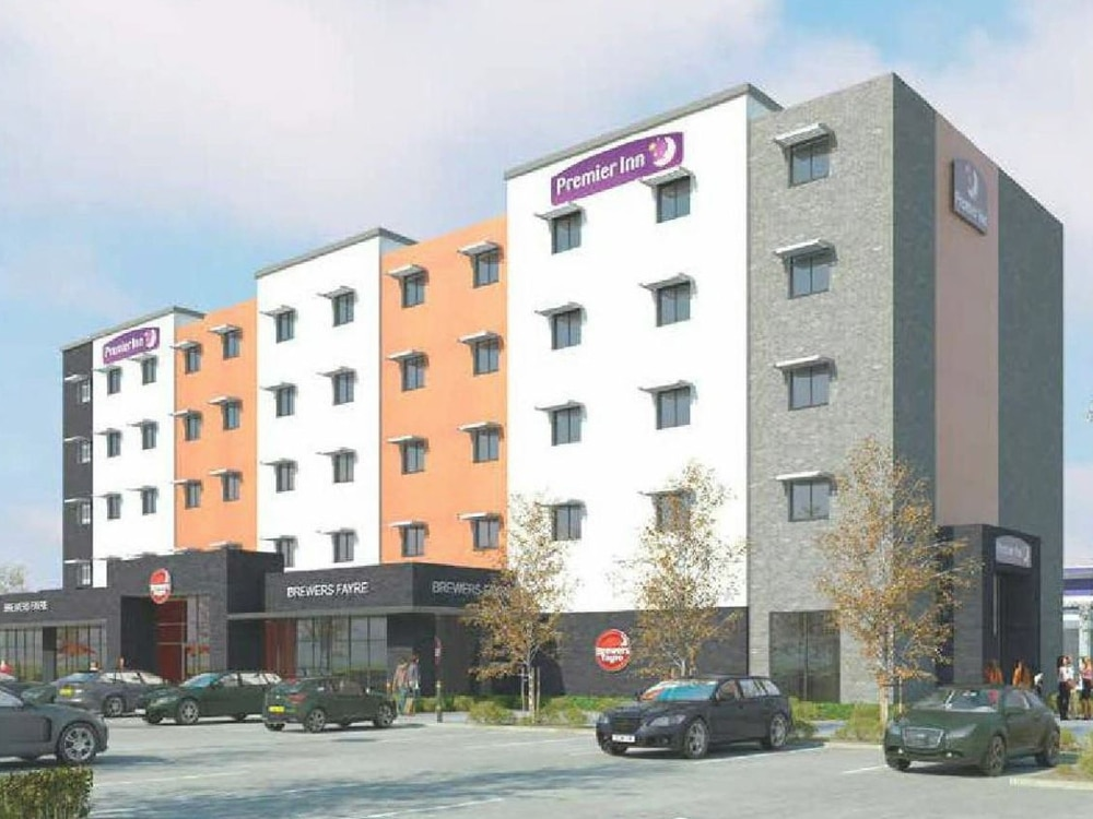 Work Starts On Building New Premier Inn In West Bromwich