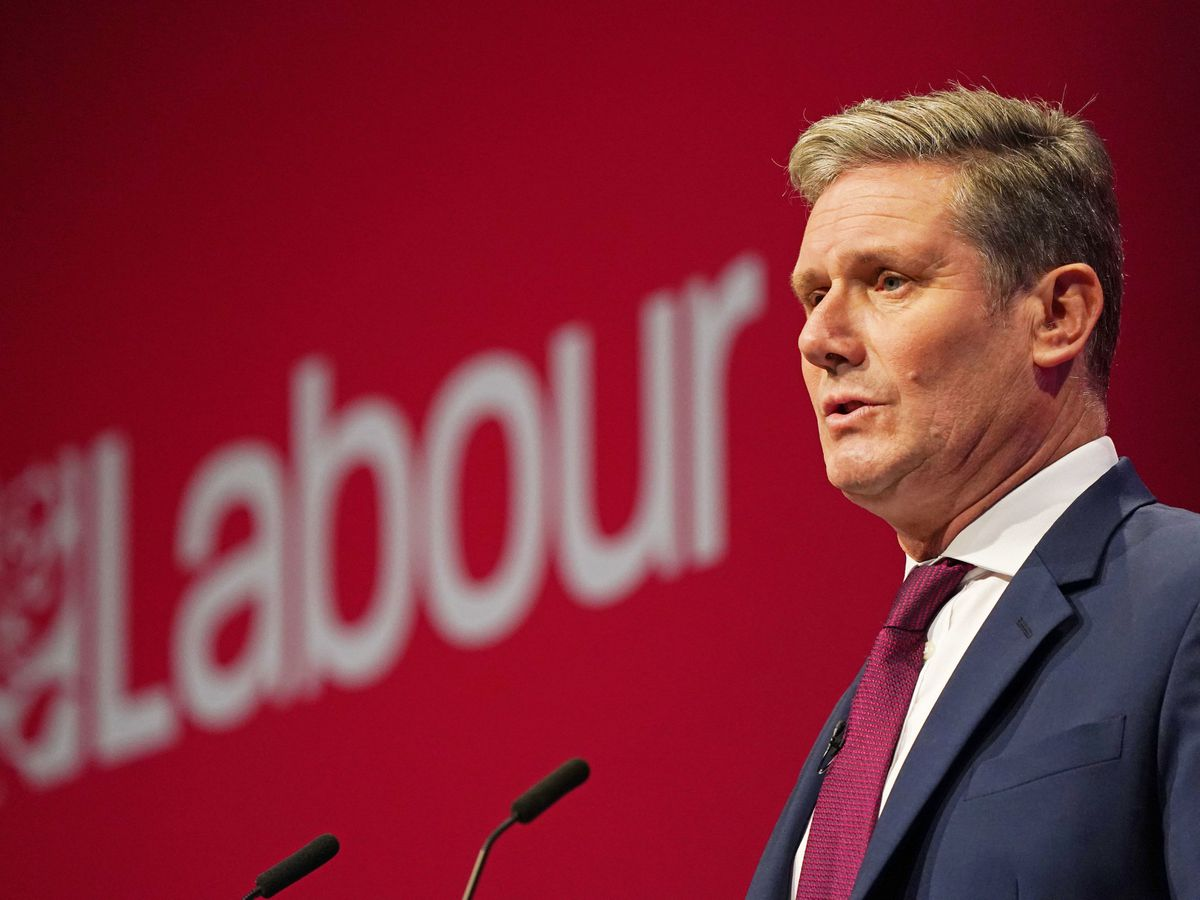Labour party leader Sir Keir Starmer delivered his keynote speech at the Labour Party conference in Brighton