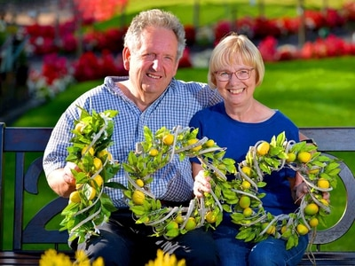 Husband-and-wife clock a century of service at Ashwood Nurseries
