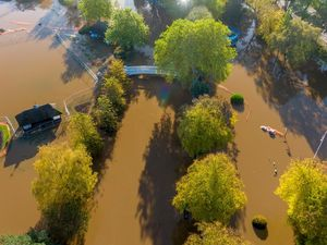 Flooding in Staffordshire in 2019