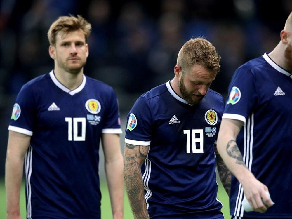 Kazakhstan v Scotland: Woeful Scots prove you can't win anything with kids