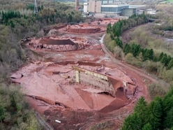 Magnificent desolation: Drone captures scene of destruction after Ironbridge cooling towers are brought down