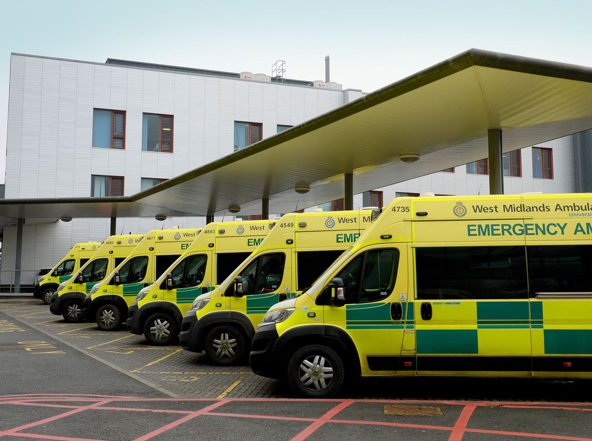 West Midlands Ambulance Service is facing record levels of demand