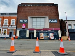 Dudley Road still closed five days after nightclub's roof panels blown off