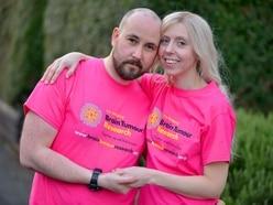 WATCH: Brave mum Katie in £90k bid to help tackle brain tumour victims