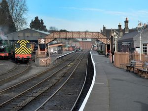 Severn Valley Railway was empty throughout the last national lockdown