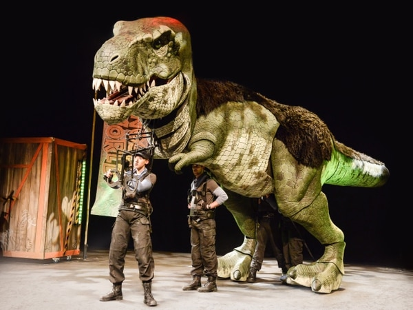 Dinosaur World Live, Birmingham Town Hall - review with pictures