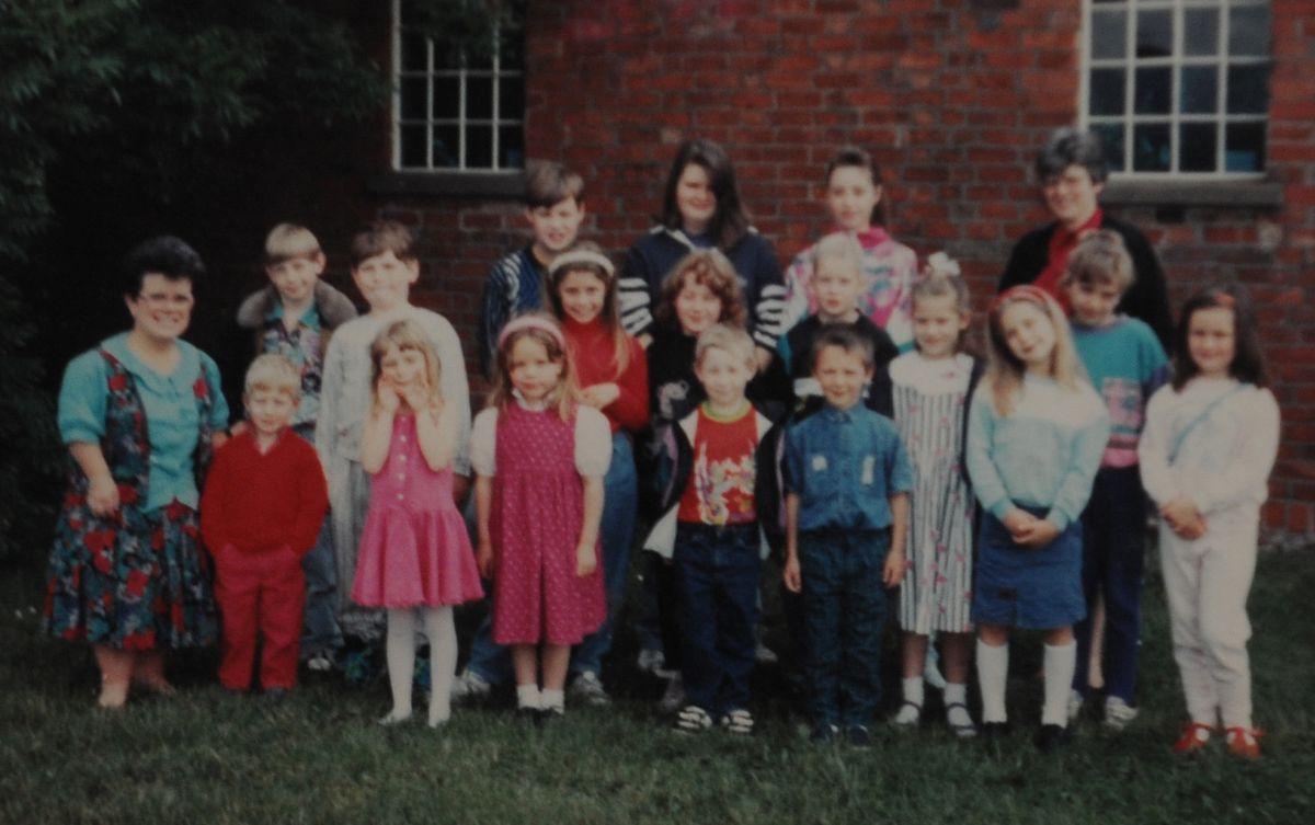 Marsh Green Methodist Sunday School in 1991