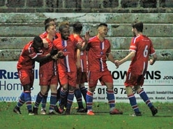 Kendal Town 0 Chasetown 1: Report and pictures